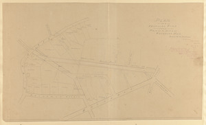 Plan of a proposed road from Main to High St., Rockport, Mass.
