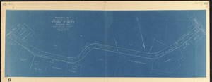 Proposed layout, thirty-six feet wide, Story Street, Rockport, Mass.