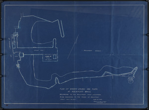 Plan of wharf, upland and flats at Rockport, Mass.