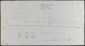 Detail plan, original ground, North End, Front Beach, Rockport, Mass.