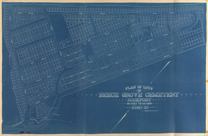 Plan of lots in Beech Grove Cemetery, Rockport