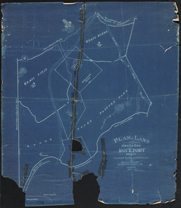 Plan of land at South End, Rockport, Mass.
