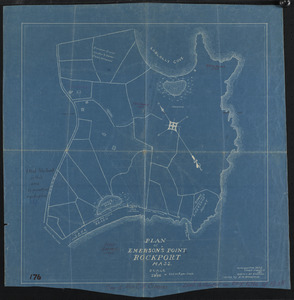 Plan of Emerson's Point, Rockport, Mass.