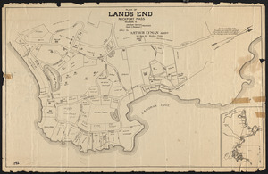 Plan of Lands End, Rockport, Mass. belonging to John Tudor Gardiner, Charles S. Rackemann, Trustees
