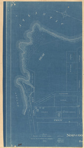 Plan of the Norwood Headland in Rockport, Mass.