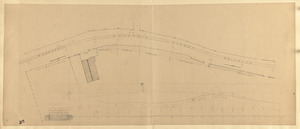 Plan of a request of Electric Street Railroad