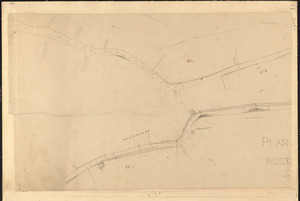 Plan of the highway in Rockport, Mass., from Long Cove to Todds'
