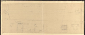 Plan showing profile, cross section and method of construction of work