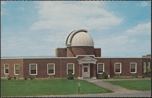 The observatory at Bucknell University, Lewisberg, Pa., offers fine facilities for study and research in astronomy