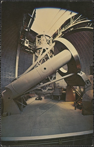 The 200-inch Hale telescope, Palomar Mountain, California