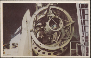 "The 200"" telescope, Palomar Mountain, California"