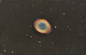 Ring Nebula in the constellation of Lyra
