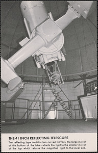 The 41 inch reflecting telescope