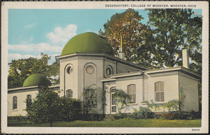 Observatory, College of Wooster, Wooster, Ohio