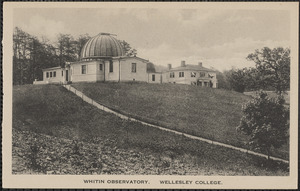 Whitin Observatory. Wellesley College