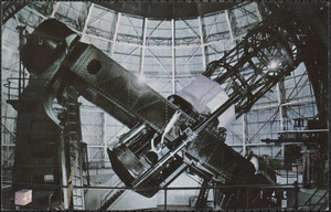 Giant 100 inch telescope Mt. Wilson Observatory, California
