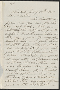F. B. Sanborn autograph letter to [Thomas Wentworth Higginson], Concord, 16 January 1860