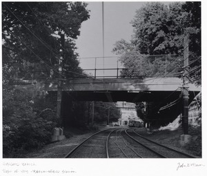 Right of way over Highland Branch (D Line) at Beaconsfield Station