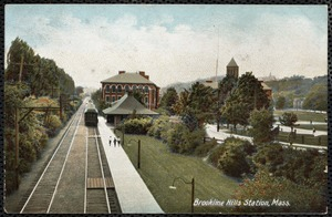 Brookline Hills Station, Mass.