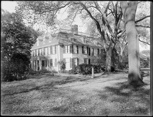 """""""Dorothy Q"""" House, old Quincy Mansion, Quincy, Mass."""