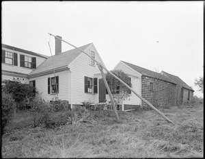 Old Oaken Bucket House of Woodsworth's song, Scituate, Mass.