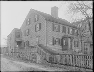 Bird-Sawyer Homestead, 41 Humphreys Street, Dorchester, Mass.
