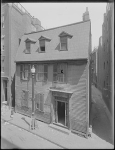 Vernon or Charter House opposite Unity Street, North End