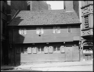 Paul Revere House, 19 North Square, Boston, Mass.