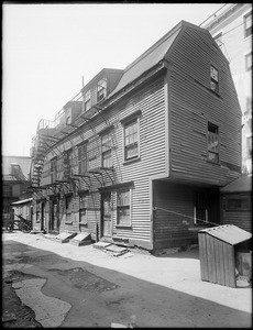 Clough House, Vernon Place, North End, Boston, Mass.