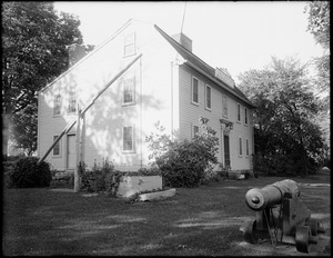 Birthplace of Benjamin Thompson, Count Rumford, Elm Street (near Main Street), Woburn, Mass.