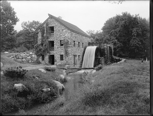 Grist mill at Wayside Inn, South Sudbury, Mass.
