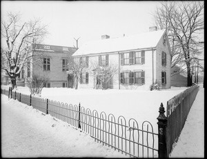 Thomas Curtis House at corner of Barbara Street and 429 Centre Street, Jamaica Plain