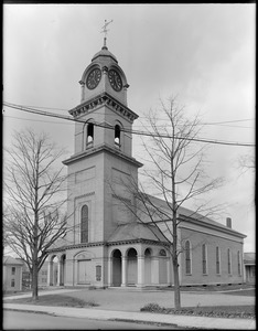 The First Parish in Waltham (Unitarian), School Street, Waltham, Mass.