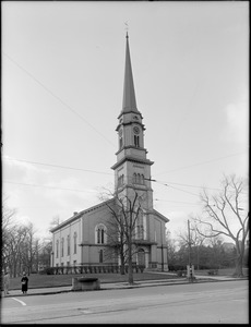 First Church of Arlington, Massachusetts Avenue, Arlington, Mass.