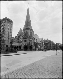 First Church in Boston at Berkeley Street and Marlborough Street