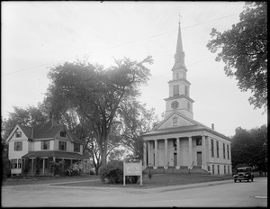 First Congregational Parish (Unitarian), North Street, Medfield, Mass.
