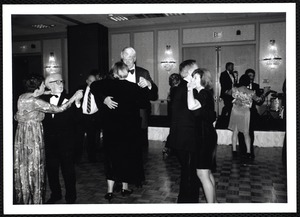 Newton Free Library, Newton, MA. Communications & Programs Office. Library Lovers Ball - dancers