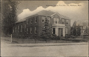 American Legion Post No. 122, Methuen, Mass.