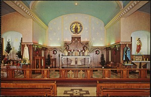 Our Lady of Mount Carmel Church, the new sanctuary - 1962