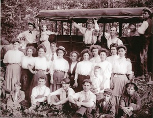 Youth outing, North Brookfield