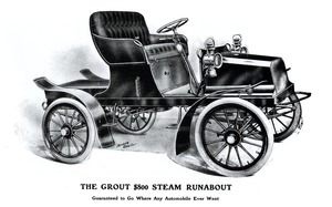 Grout $800 Steam Runabout