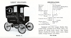 Grout Light Delivery Wagon