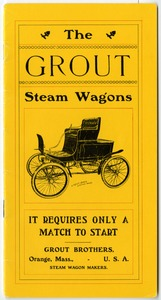 The Grout Steam Wagons