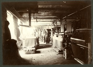 Workers at the Taft or 'Old Huguenot Mill' approx. 1880. (2)