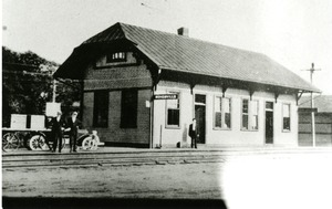 Boston & Albany Railroad Station, Bondsville, Mass.