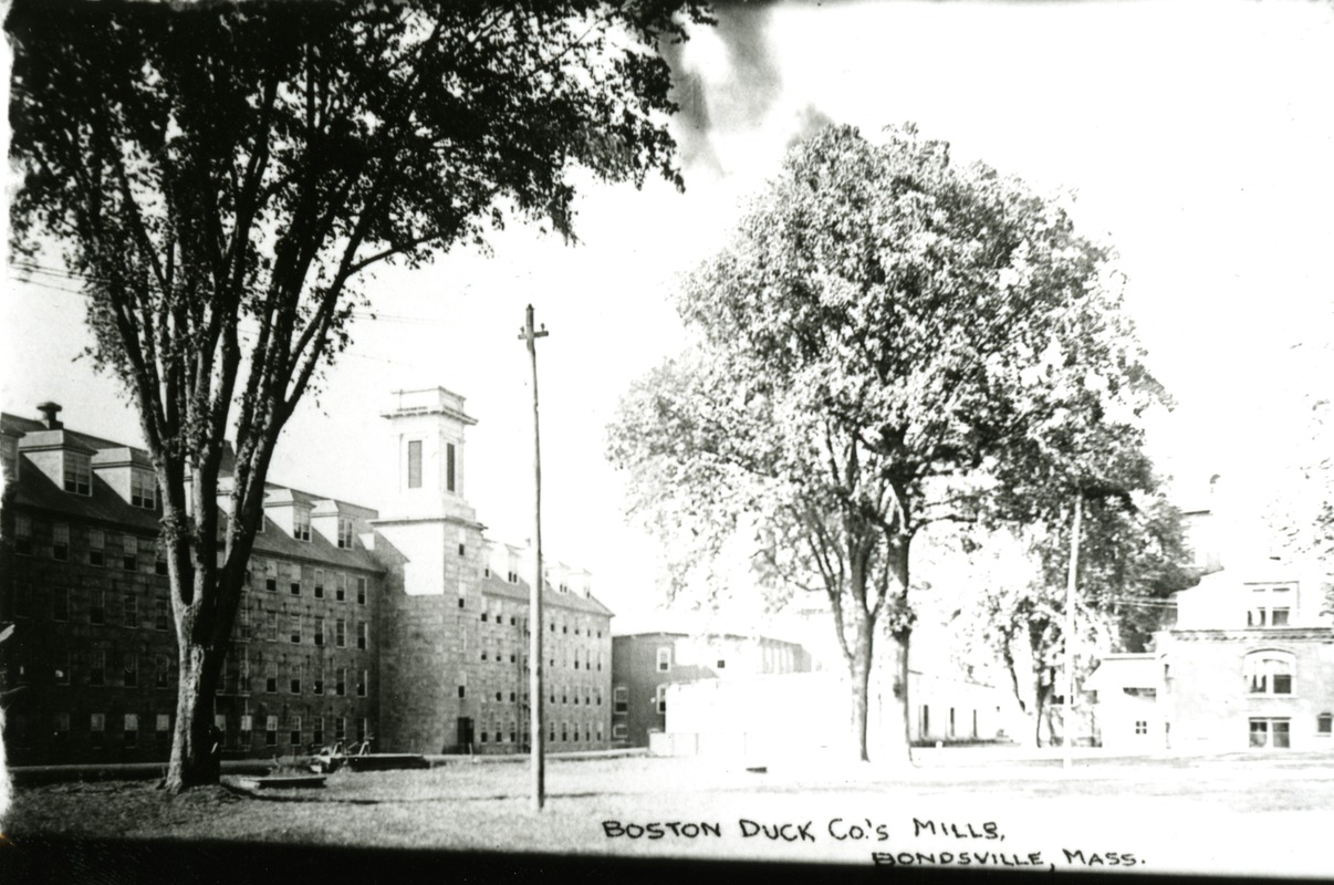 Boston Duck Co.'s Mills, Bondsville, Mass.