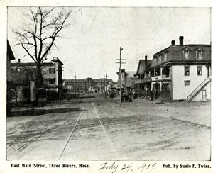 East Main Street, Three Rivers, Mass.