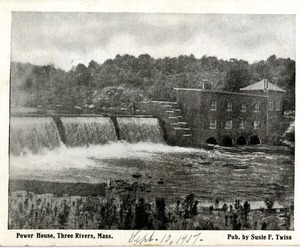 Power House, Three Rivers, Mass.