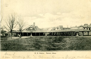 Railroad Station, Palmer, Mass.