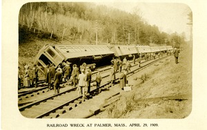 Railroad Wreck at Palmer, Mass., April 29, 1909